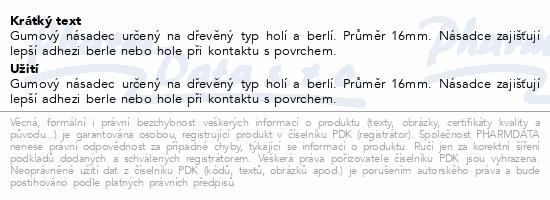 Informace o produktu Násadec na berle č.3 Steriwund