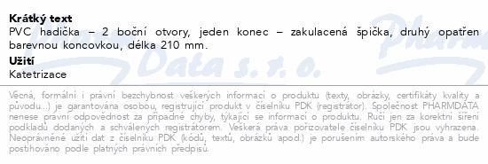 Informace o produktu Cévka močová Nelaton ženský CH12.210mm