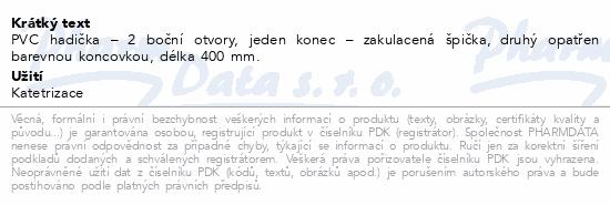 Informace o produktu Cévka močová Nelaton mužský CH12.400mm