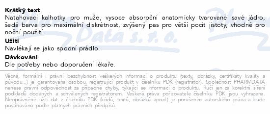 Informace o produktu Depend Maximum inkont.kalh.muži vel.L/XL 9ks