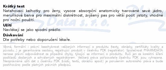 Informace o produktu Depend Maximum inkont.kalh.ženy vel.L 9ks