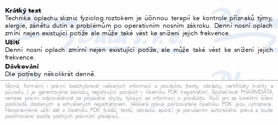 Informace o produktu Sinus Rinse náhradní sáčky 120ks
