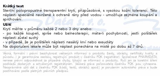 Informace o produktu URGO OPTISKIN Pooperační nápl.transp.10x7cm 10ks