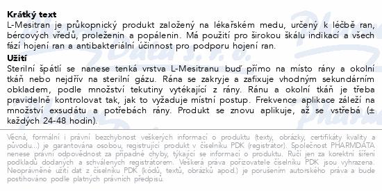 Informace o produktu L-Mesitran Ointment 50g