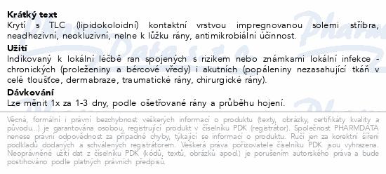Informace o produktu UrgoTul Ag krytí lipidokoloid.vrstva 10x12cm 10ks