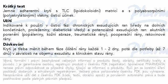 Informace o produktu UrgoClean lipidokoloid.krytí 10x10cm 10ks