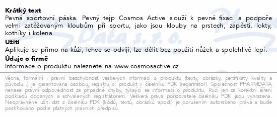 Informace o produktu Cosmos Active - Sportovní tejp. bílý 3.75cm x7m