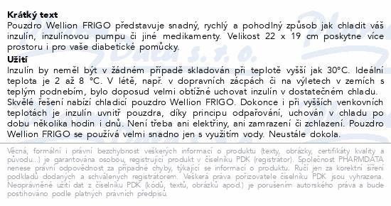 Informace o produktu Wellion Chladící pouzdro FRIGO/vel.XXL