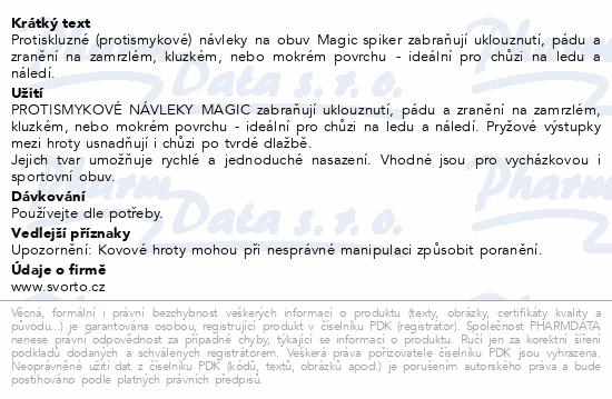 Informace o produktu svorto 080 Nesmeky Magic 40-43 (L)