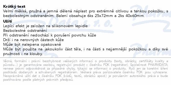 Informace o produktu Rychloobvaz COSMOS Ult.jemná 25x72mm6ks+40x60mm2ks
