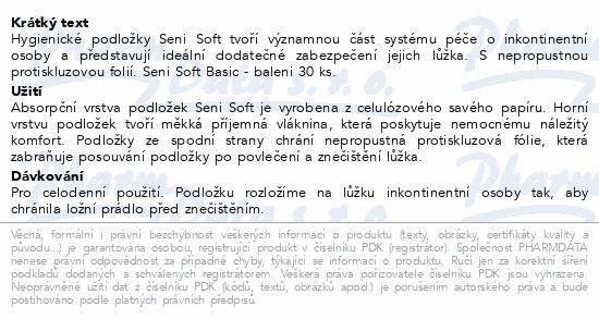 Informace o produktu Seni Soft BASIC 90 x 60 cm 30 ks podl. absorp.