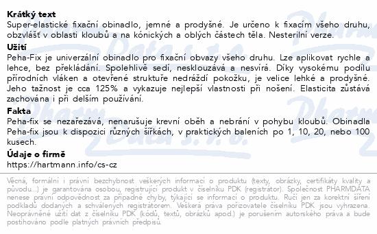 Informace o produktu Obin.elast.fix.Peha-fix 12cmx4m (Peha-crepp)