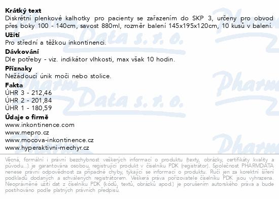 Informace o produktu iD Intime Pants Large Normal 5551355100 10ks