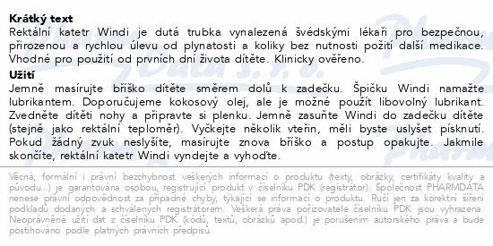 Informace o produktu fridababy Windi rektální katetr 10ks