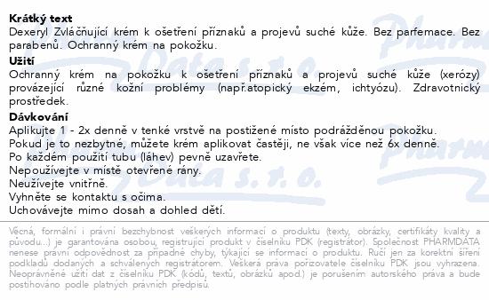 Informace o produktu DEXERYL Krém DUO 2x500g