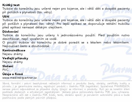 Informace o produktu Trubice do koneč. 2/5x120 c.o. 5ks 573102