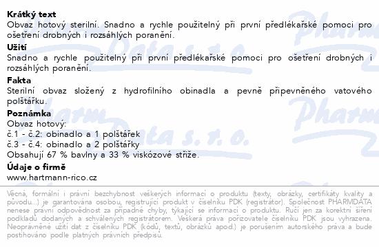 Informace o produktu Obvaz hotový ster. č.2 obinadlo a 1 polštářek
