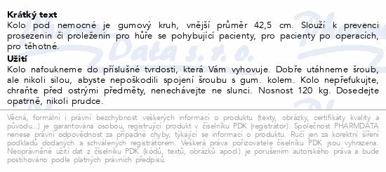 Informace o produktu Kolo pod nemocné 42cm