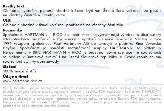 Informace o produktu Obin. hydrofil.pletené sterilní 12cmx5m 3004120
