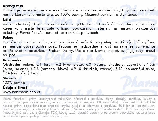 Informace o produktu Pruban elast.hadic.č. 9/ 1mx90mm 4273390