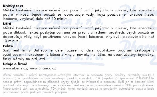 Informace o produktu Rukavice bavlněné nitěné 12 párů/balení