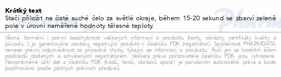 Informace o produktu Teploměr čelový