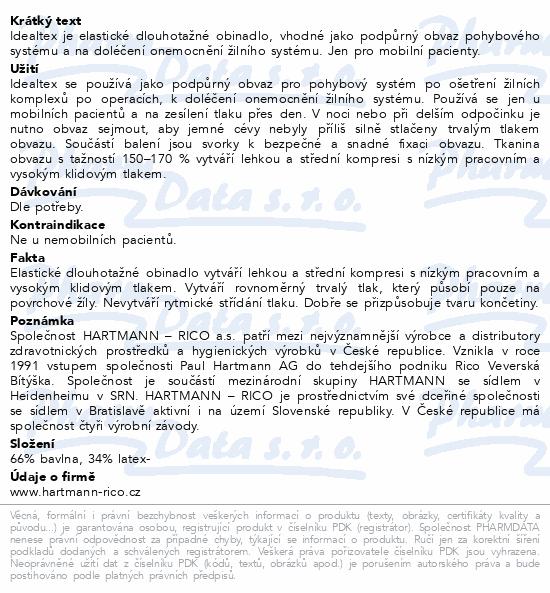 Informace o produktu Obin. pruž.Idealtex 12cmx5m