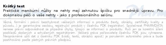 Informace o produktu Nůžky nehtové zahnuté slabé SI-019Z