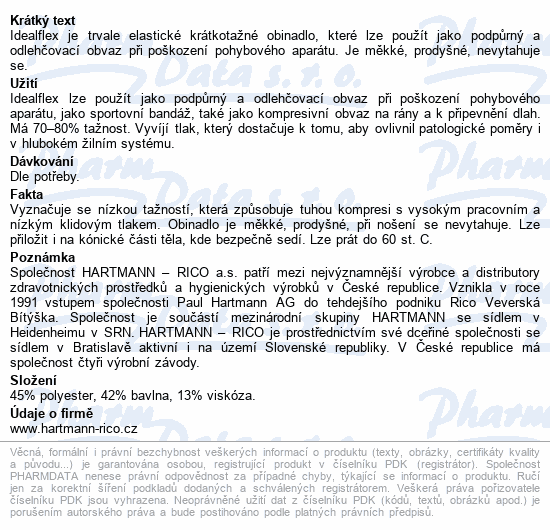 Informace o produktu Obin. pruž.Idealflex 8cmx5m 9312918