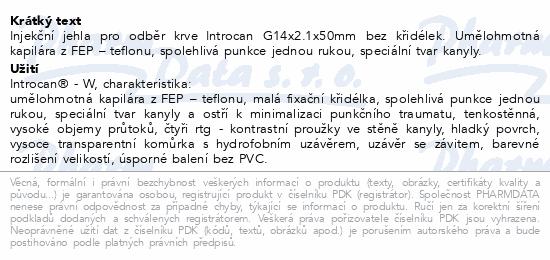 Informace o produktu Introcan-W 24g 0.7x19mm (žlutá) 4254074B
