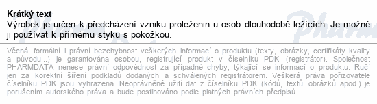 Informace o produktu Podložka Dekuba 70x100cm