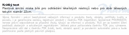 Informace o produktu Miska na hnis z PH 22cm