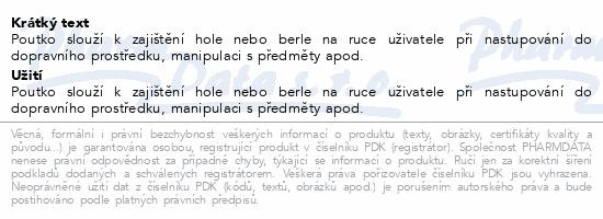 Informace o produktu Poutko k vycházkové holi