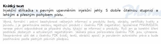 Informace o produktu BD Plastipak šroubovací stříkačka 50ml 60ks