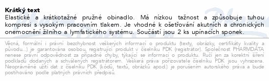 Informace o produktu Obin. pruž. CZIDEÁL 6cmx5m/+2ks upín.sponek