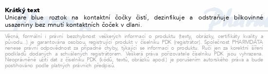 Informace o produktu UniCare Blue 240ml roztok na měkké kontakt.čočky