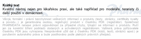 Informace o produktu Pinzeta chirurgická 1x2 zoubky 14cm ZSZ