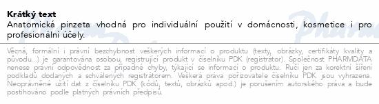 Informace o produktu Pinzeta anatomická jemná 130mm ZSZ