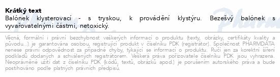 Informace o produktu Balónek klysterovací č.11