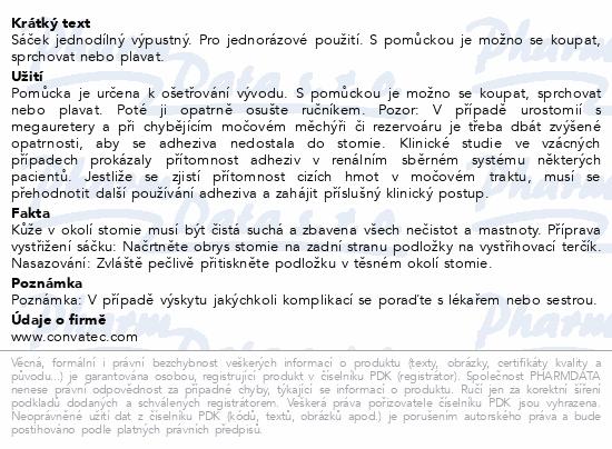 Informace o produktu Sáček výpustný Stomadress velkoobjem.100mm 10ks