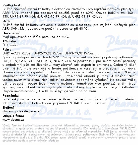 Informace o produktu Inkont.fixač.kalh. Abri-Fix Net X-Large 5ks