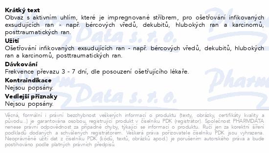 Informace o produktu Actisorb Plus 10.5x10.5cm 10ks