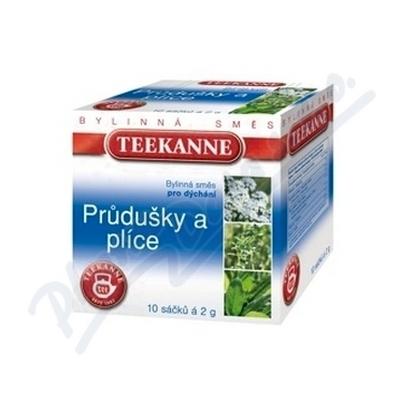 Zobrazit detail - TEEKANNE Průdušky a plíce bylinný čaj n. s. 10x2g