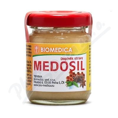 Medosil pastovaný med se silicemi 65g sklo