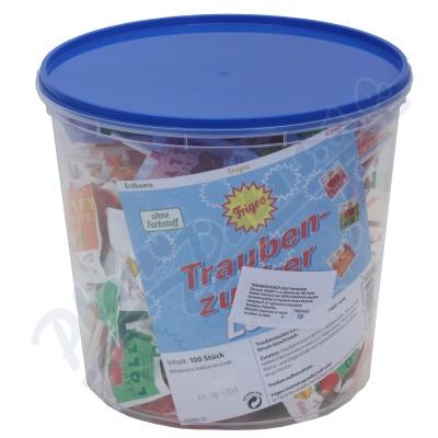 Zobrazit detail - Traubenzucker Lolly lízátka 100ks z hroz. cukru