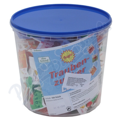 Zobrazit detail - Traubenzucker Lolly lízátka z hrozn. cukru 100ks