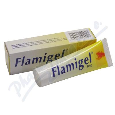 Zobrazit detail - Flamigel 50ml hydrokoloid. gel na hojení ran