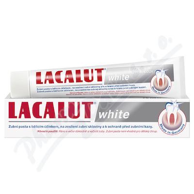 Zobrazit detail - Lacalut White zubní pasta 75ml bělící bez peroxidu
