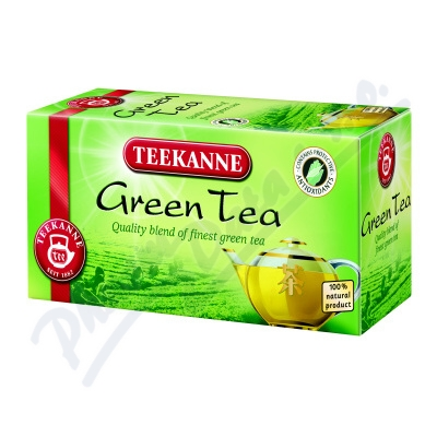 Zobrazit detail - TEEKANNE Zelený čaj n. s. 20x1. 75g