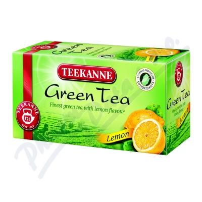 Zobrazit detail - TEEKANNE Zelený čaj citrón n. s. 20x1. 75g